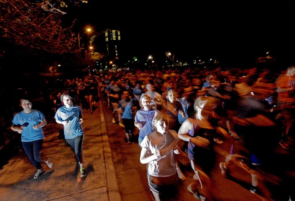 Late night run