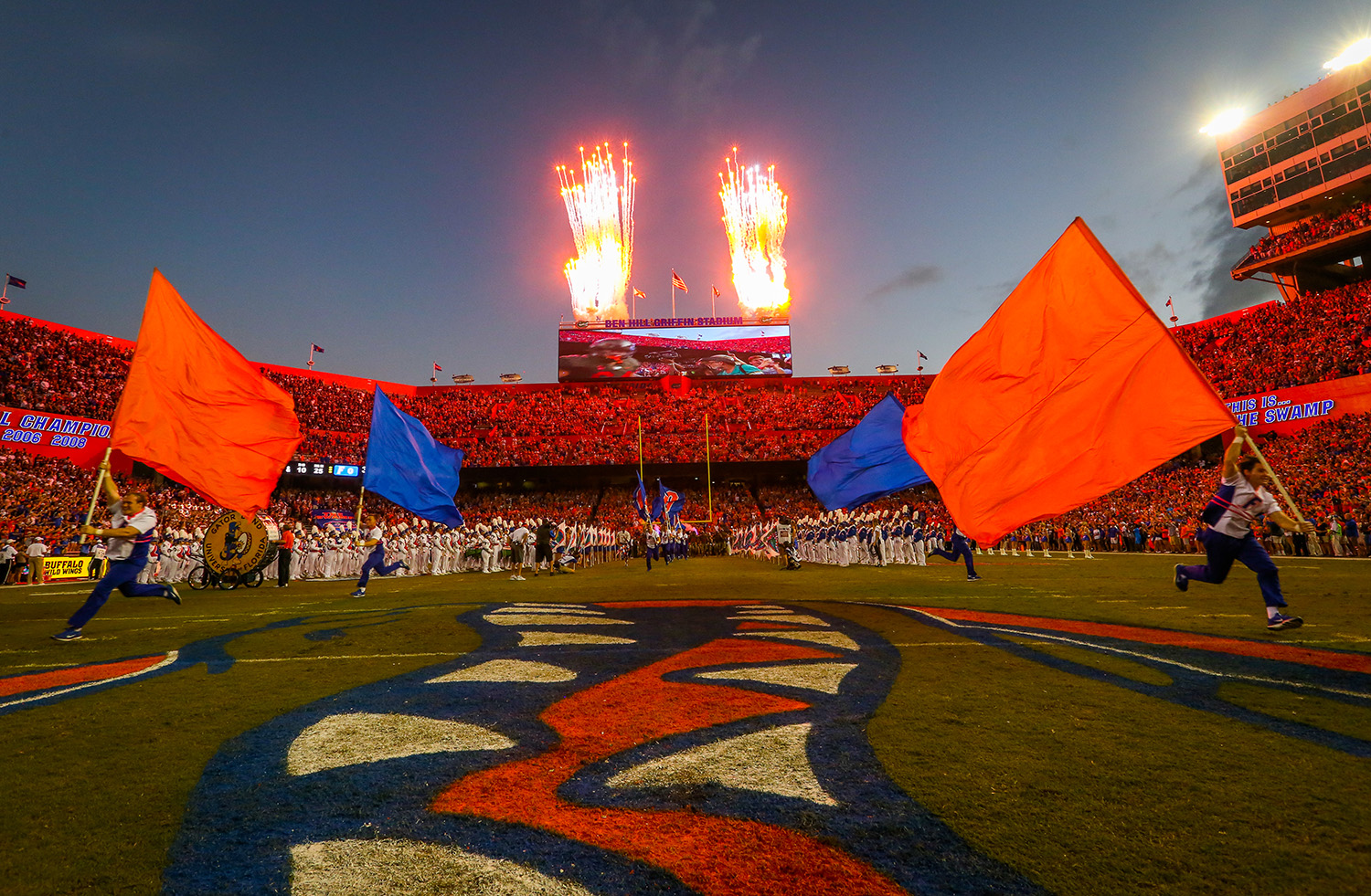 Florida Gators versus Texas A&M Aggies at Ben Hill Griffin Stadium on Saturday, Oct. 14, 2017 in Gainesville, Fla. The Aggies defeated Florida 19-17. (Photo by Matt Stamey)