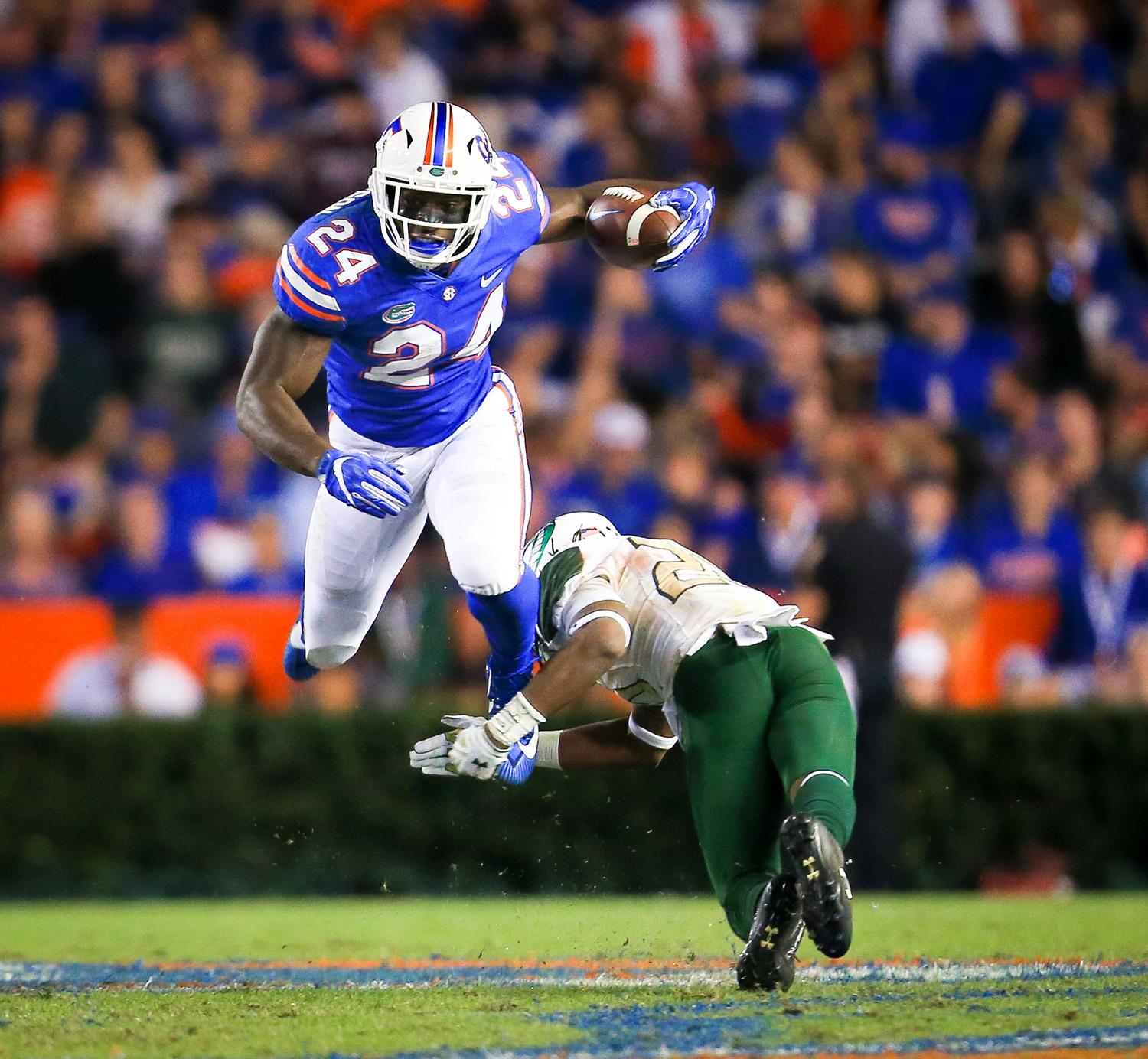 UAB Blazers at Florida Gators football at Ben Hill Griffin Stadium on Saturday, Nov. 19, 2017 in Gainesville, Fla. Florida defeated UAB 36-7. (Photo by Matt Stamey)