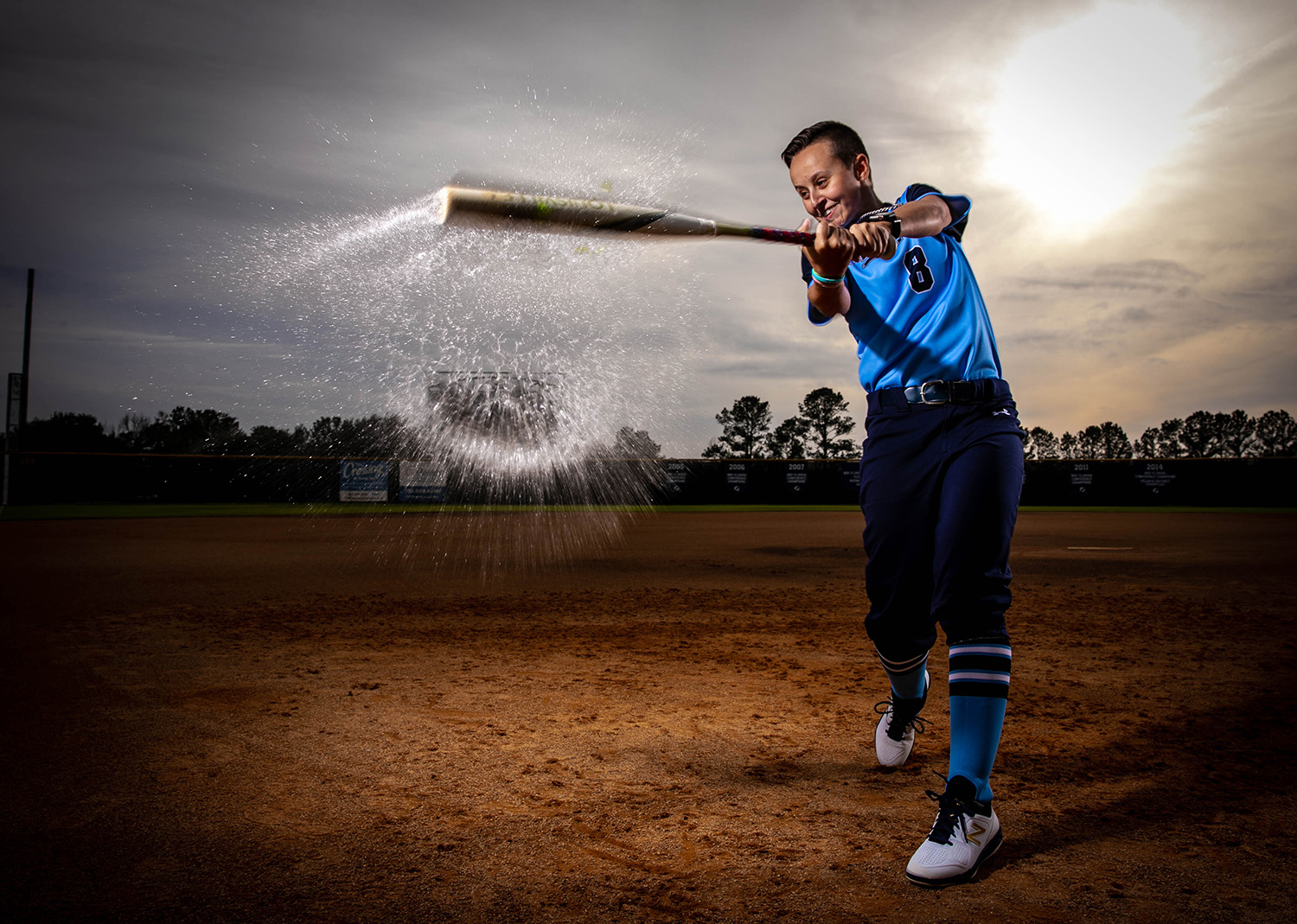 Santa Fe College Softball player Laila Dickey photographed on Jan. 23, 2020 in Gainesville, Fla.  (Matt Stamey/Santa Fe College ) ***Subjects Have Releases***