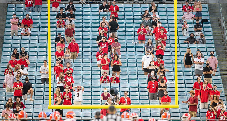 at TIAA Bank Field in Jacksonville, Florida on Saturday, Oct. 7, 2020. (photo by Matt Stamey)
