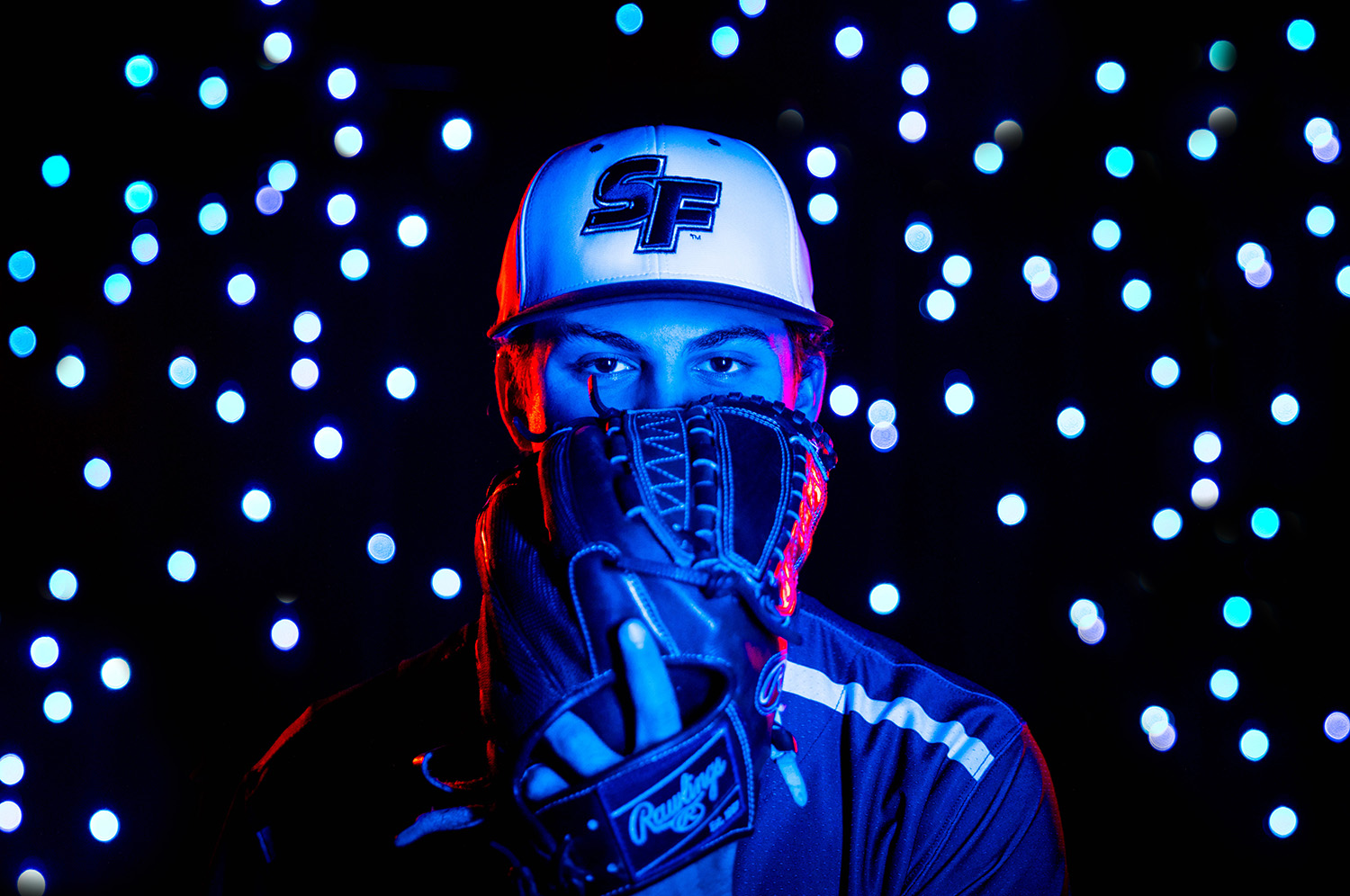 Santa Fe College Saints Baseball player eduardo yepes photographed on Nov. 13, 2020. (Matt Stamey/Santa Fe College ) ***Subjects Have Releases***