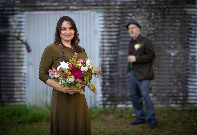 Ambrose Wedding on Monday, Dec. 21, 2020 in Gainesville, Fla. (Photo by Matt Stamey)